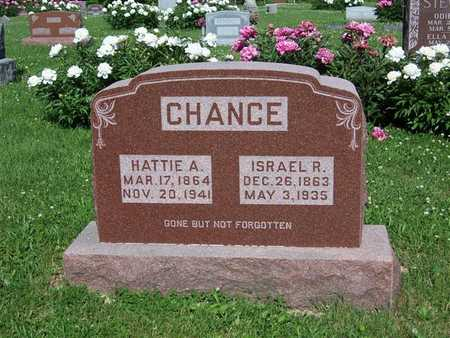 CHANCE, ISRAEL R. - Monroe County, Iowa | ISRAEL R. CHANCE