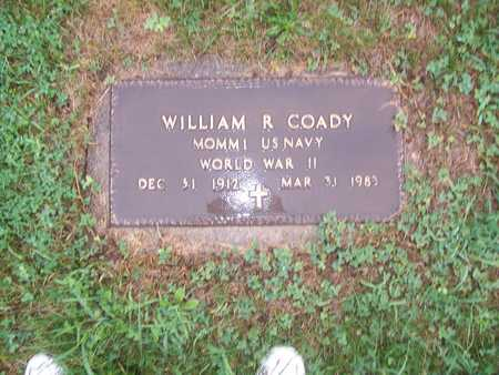 COADY, WILLIAM R. - Monroe County, Iowa | WILLIAM R. COADY