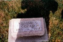 COZAD, WILLIAM GRANT - Monroe County, Iowa | WILLIAM GRANT COZAD