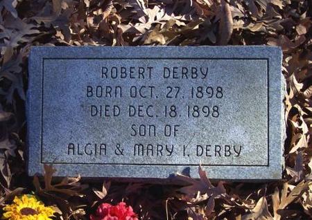 DERBY, ROBERT - Monroe County, Iowa | ROBERT DERBY