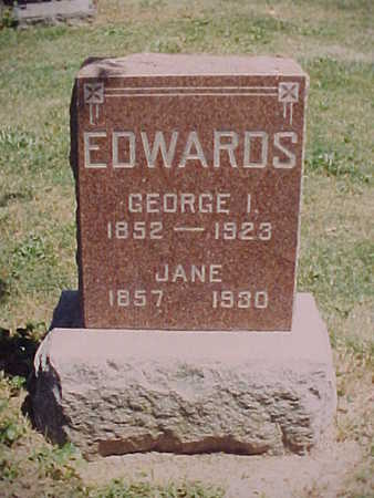 EDWARDS, GEORGE ISAAC - Monroe County, Iowa | GEORGE ISAAC EDWARDS