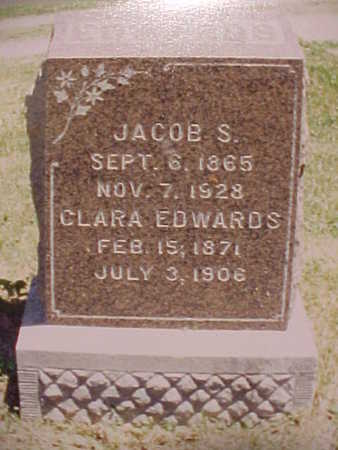 EDWARDS, CLARA - Monroe County, Iowa | CLARA EDWARDS
