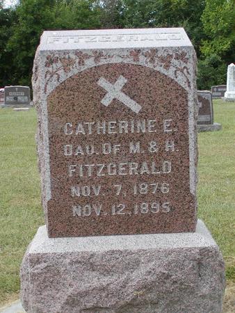FITZGERALD, CATHERINE E. - Monroe County, Iowa | CATHERINE E. FITZGERALD