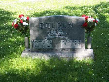 GOLDEN, RAYMOND M. - Monroe County, Iowa | RAYMOND M. GOLDEN