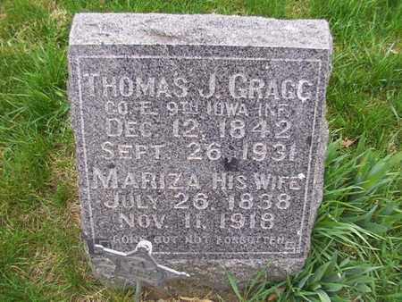 GRAGG, THOMAS J. - Monroe County, Iowa | THOMAS J. GRAGG
