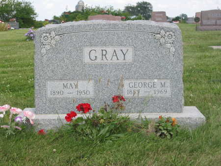 GRAY, GEORGE M. - Monroe County, Iowa | GEORGE M. GRAY