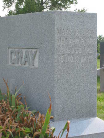GRAY, MARY AGNES - Monroe County, Iowa | MARY AGNES GRAY