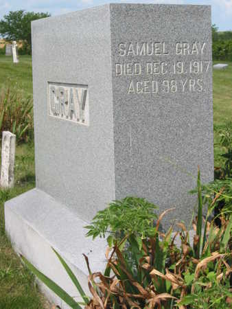 GRAY, SAMUEL - Monroe County, Iowa | SAMUEL GRAY