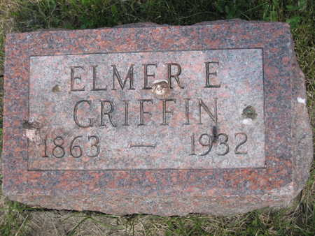 GRIFFIN, ELMER ELLSWORTH - Monroe County, Iowa | ELMER ELLSWORTH GRIFFIN