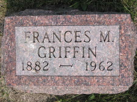 GRIFFIN, FRANCES M. - Monroe County, Iowa | FRANCES M. GRIFFIN
