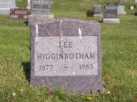 HIGGINBOTHAM, LEE - Monroe County, Iowa | LEE HIGGINBOTHAM