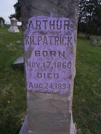 KILPATRICK, ARTHUR - Monroe County, Iowa | ARTHUR KILPATRICK