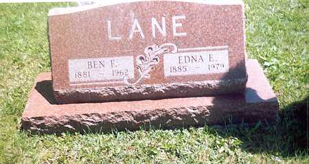 LANE, EDNA - Monroe County, Iowa | EDNA LANE