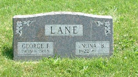 LANE, GEORGE F. - Monroe County, Iowa | GEORGE F. LANE