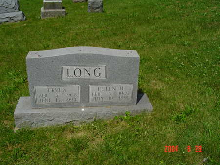 LONG, HELEN H. - Monroe County, Iowa | HELEN H. LONG