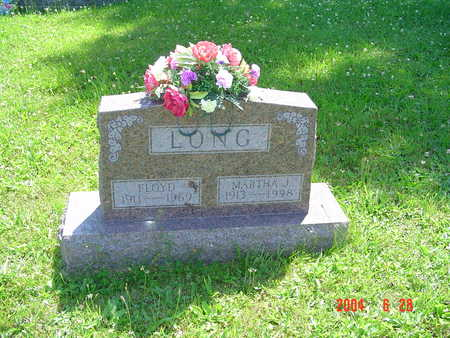 LONG, MARTHA J. - Monroe County, Iowa | MARTHA J. LONG