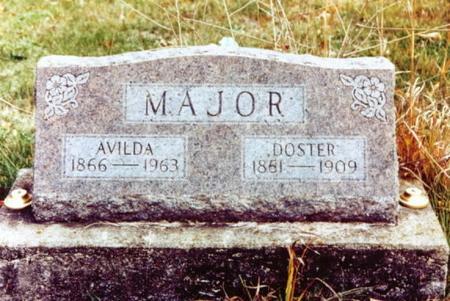 MAJOR, DOSTER - Monroe County, Iowa | DOSTER MAJOR