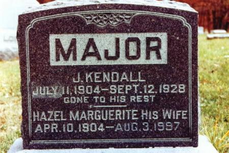 MAJOR, HAZEL MARGUERITE - Monroe County, Iowa | HAZEL MARGUERITE MAJOR