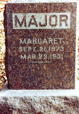 MAJOR, MARGARET - Monroe County, Iowa | MARGARET MAJOR