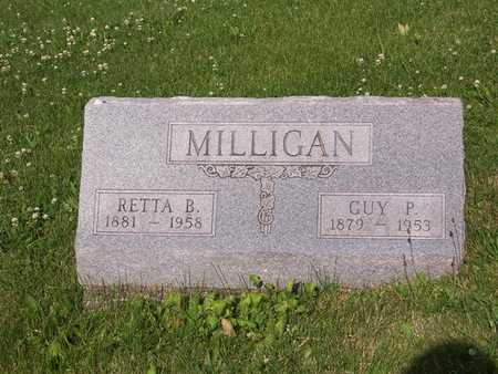 MILLIGAN, GUY P. - Monroe County, Iowa | GUY P. MILLIGAN