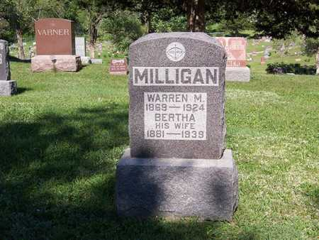 MILLIGAN, BERTHA - Monroe County, Iowa | BERTHA MILLIGAN