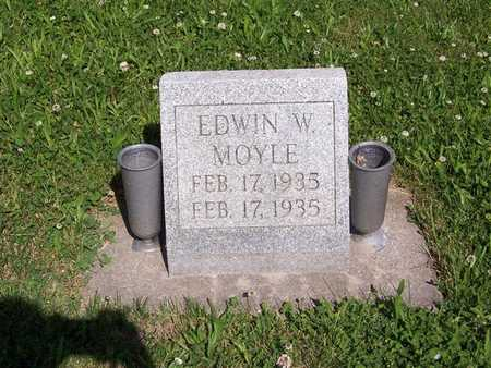 MOYLE, EDWIN W. - Monroe County, Iowa | EDWIN W. MOYLE