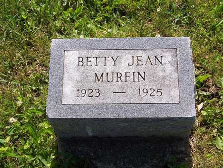 MURFIN, BETTY JEAN - Monroe County, Iowa | BETTY JEAN MURFIN