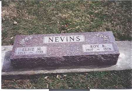 NEVINS, ROY R. - Monroe County, Iowa | ROY R. NEVINS
