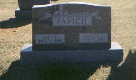 PAPICH, KATIE AND STANLEY - Monroe County, Iowa | KATIE AND STANLEY PAPICH
