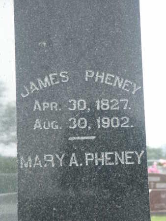 PHENEY, JAMES - Monroe County, Iowa | JAMES PHENEY