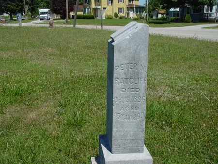 RATCLIFF, PETER M. - Monroe County, Iowa | PETER M. RATCLIFF