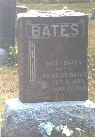 BATES, RUTH - Monroe County, Iowa | RUTH BATES