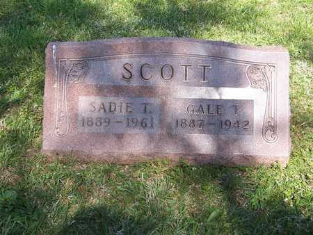 SCOTT, SADIE L. - Monroe County, Iowa | SADIE L. SCOTT