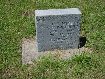 SHEPHERD, REBECCA - Monroe County, Iowa | REBECCA SHEPHERD