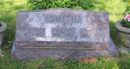 SMITH, ALTA A. - Monroe County, Iowa | ALTA A. SMITH