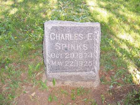 SPINKS, CHARLES E. - Monroe County, Iowa | CHARLES E. SPINKS