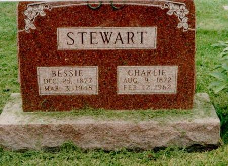 STEWART, CHARLES & BESSIE - Monroe County, Iowa | CHARLES & BESSIE STEWART