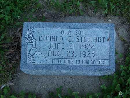 STEWART, DONALD C. - Monroe County, Iowa | DONALD C. STEWART
