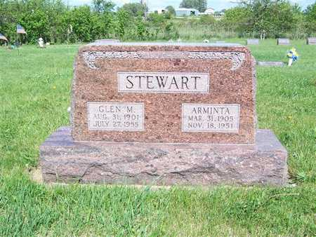 STEWART, GLEN M. - Monroe County, Iowa | GLEN M. STEWART