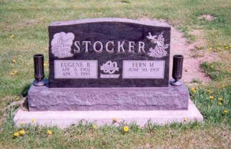 STOCKER, EUGENE B AND FERN M - Monroe County, Iowa | EUGENE B AND FERN M STOCKER