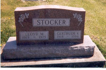 STOCKER, LLOYD M - Monroe County, Iowa | LLOYD M STOCKER