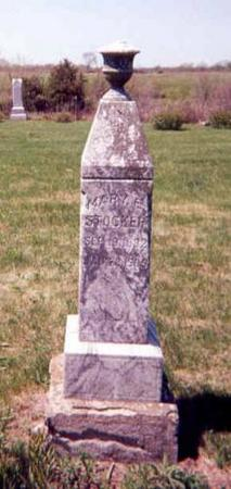 STOCKER, MARY E (ELIZABETH) - Monroe County, Iowa   MARY E (ELIZABETH) STOCKER