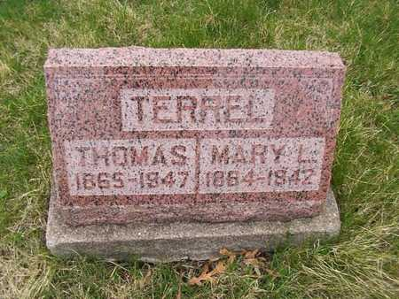 THOMPSON, MARY L. - Monroe County, Iowa | MARY L. THOMPSON