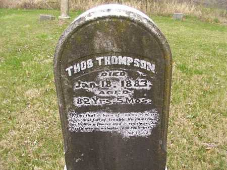 THOMPSON, THOS - Monroe County, Iowa | THOS THOMPSON