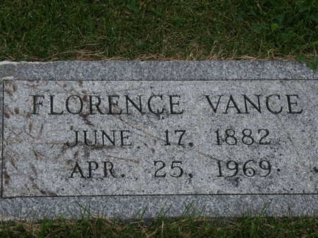 PHENEY VANCE, FLORENCE - Monroe County, Iowa | FLORENCE PHENEY VANCE