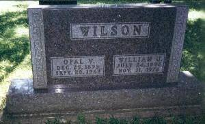 WILSON, WILLIAM U. - Monroe County, Iowa | WILLIAM U. WILSON