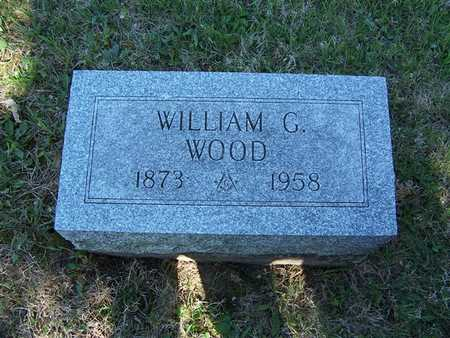 WOOD, WILLIAM G. - Monroe County, Iowa | WILLIAM G. WOOD
