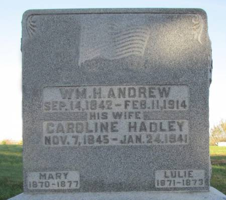 ANDREW, WILLIAM HENRY - Montgomery County, Iowa | WILLIAM HENRY ANDREW