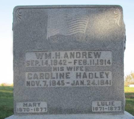 ANDREW, CAROLINE - Montgomery County, Iowa | CAROLINE ANDREW
