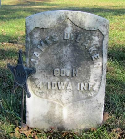 BAKER, JAMES DAVIDSON - Montgomery County, Iowa | JAMES DAVIDSON BAKER